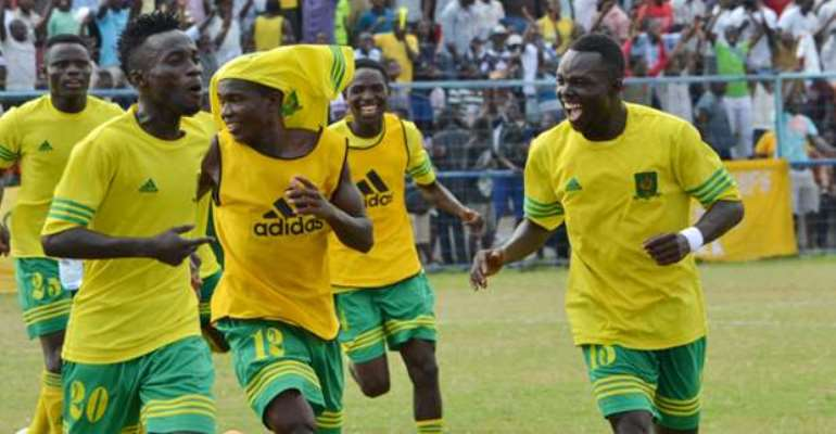 Match Report: Ebusua Dwarfs 1-0 Bechem United- Crabs swerves the Hunters in a cagey battle