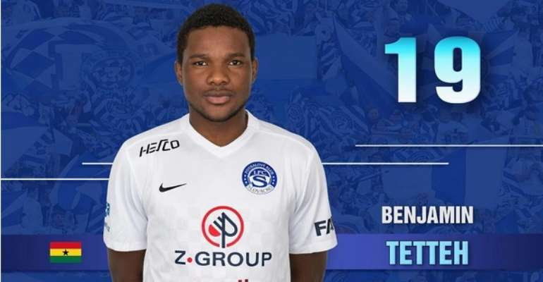 Standard Liege ask striker Benjamin Tetteh to report for pre-season training