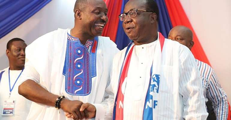 Why Akufo-Addo Does Not Support Freddie Blay
