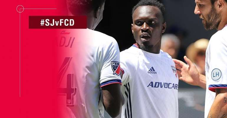 Ghana's Francis Atuahene Scores Outrageous Goal On MLS Debut