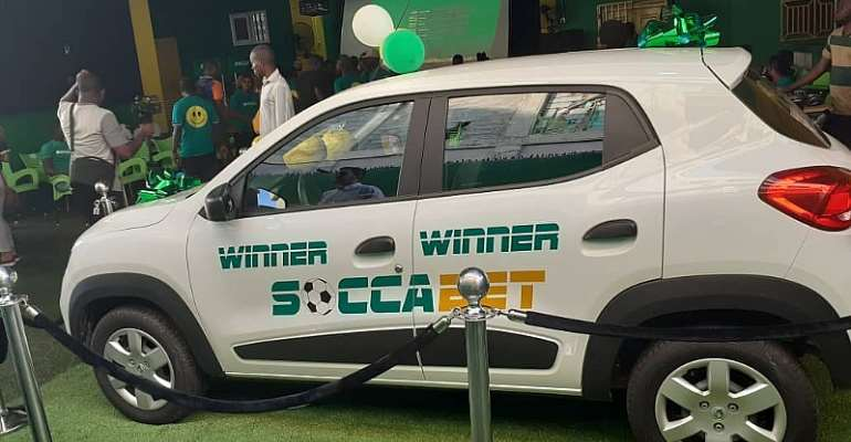 SoccaBet Gives Away 3rd Car In Massive Promo Series