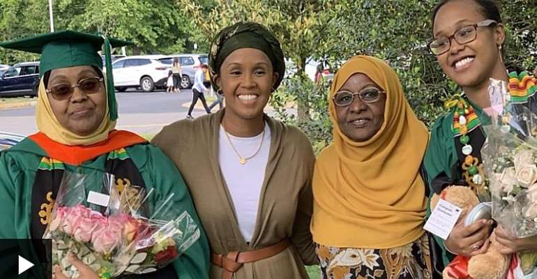 Mother and daughter graduate on the same day from U.S University