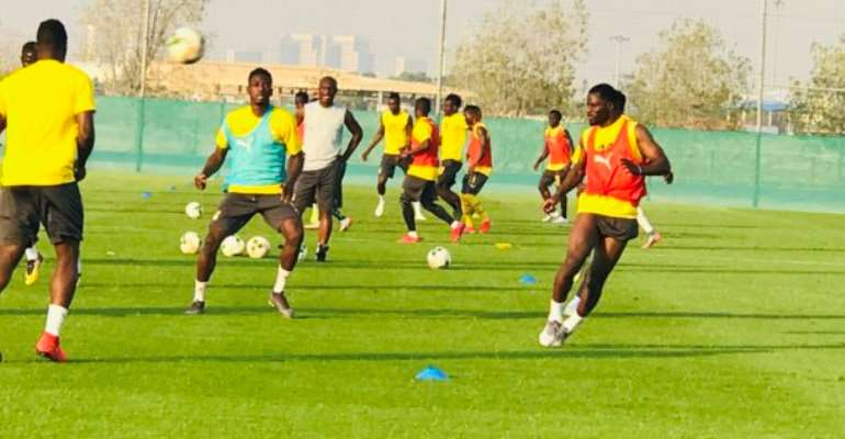 Namibia Pips Black Stars In A Pre-AFCON Friendly
