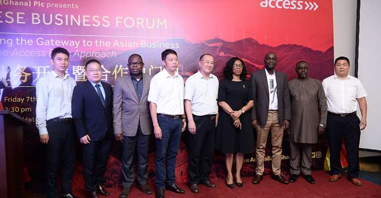 Maiden Access Bank Chinese Business Forum Receives Commendation