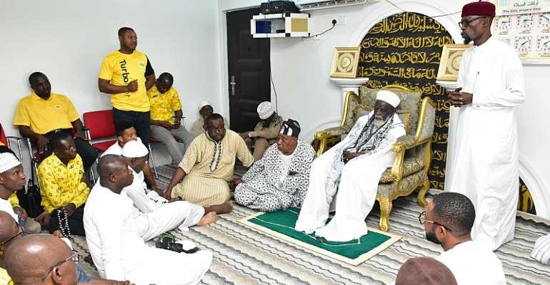 MTN Ghana Celebrates Chief Imam @100