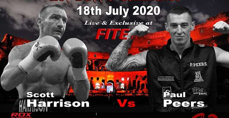 UK Boxing Returns 18th July - Harrison VS Peers Headlines First Event Live On Fite TV