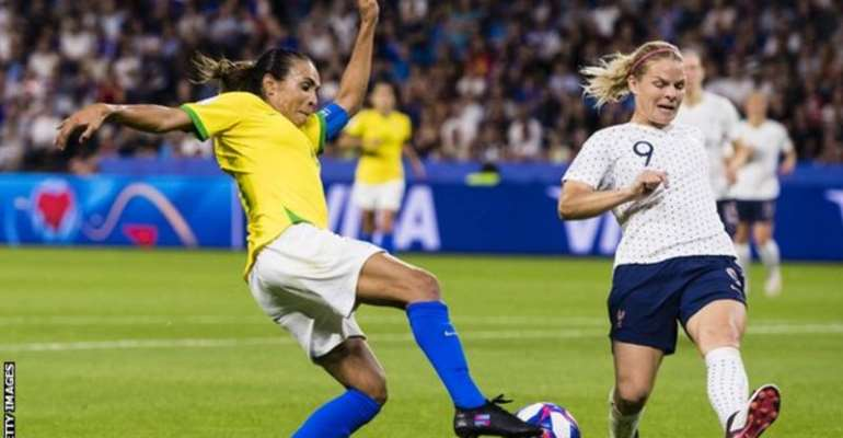 Brazilian star Marta is a six-time Fifa Player of the Year
