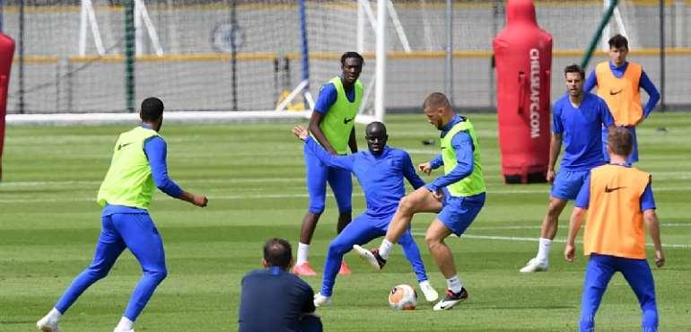 N'Golo Kante Resumes Training Ahead Of Premier League Return