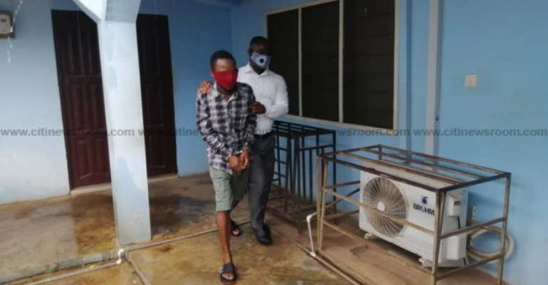 Kumasi: Man Jailed 2years For Whipping His 3-year-old Son With Wire