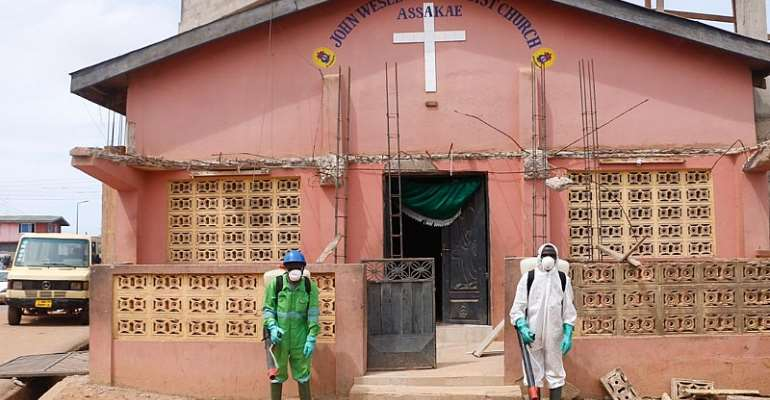 Zoomlion CertifiesChurches InWestern Region For Religious Activities To Resume
