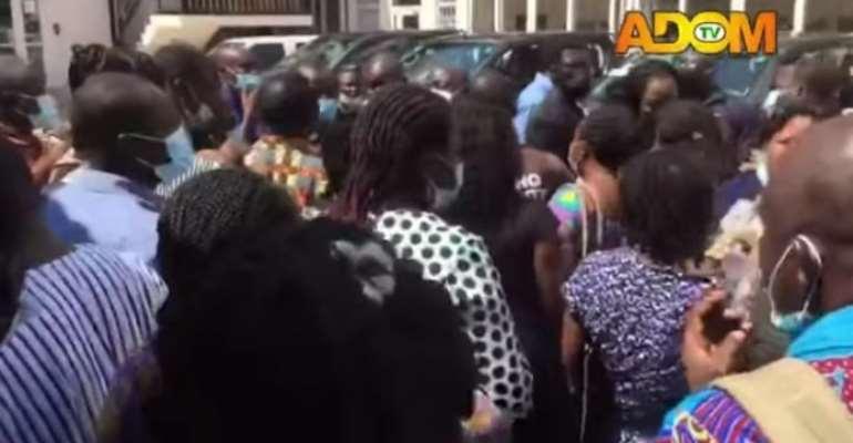 Promotional exam: 'Failed' teachers picket at GES, suspect 'kululu'