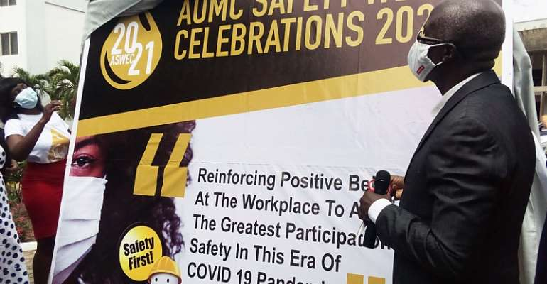 Safety will always be a fundermental business practice — AOMCs Board of Governor