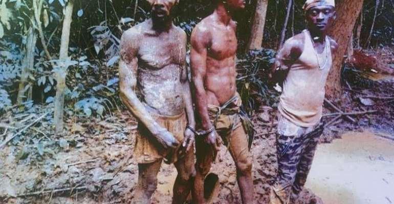 Takoradi: Three galamseyers jailed 15 years each, fined GHS 240,000