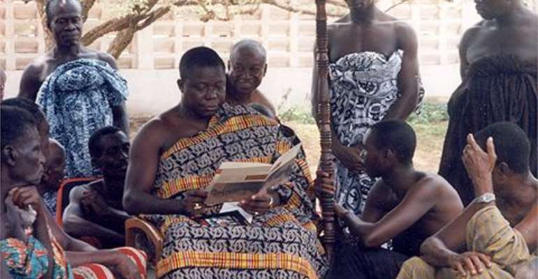 Dallas/Fort Worth Residents Donate To Otumfuo Education  Fund