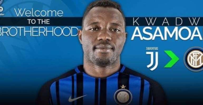 Kwadwo Asamoah Eyes Champions League Triumph With Inter Milan