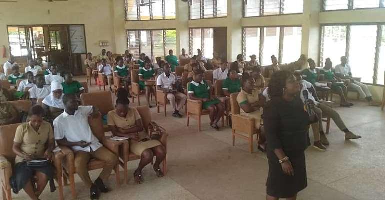 Newly Posted Nurses Undergoes Training In The Bono-East Region