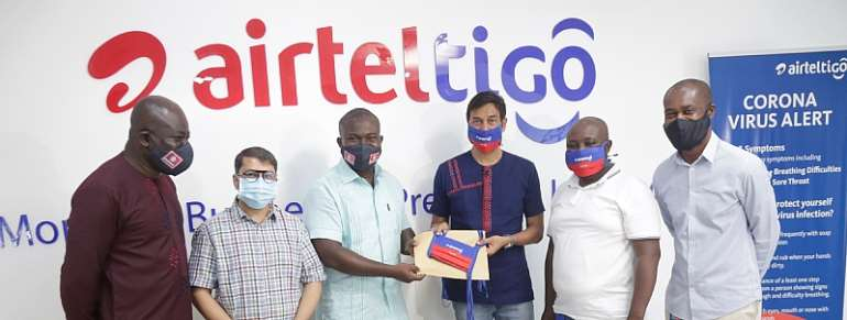 COVID-19: AirtelTigo 'Mask4All' Campaign Offers 5,000 Face Masks For The Poor