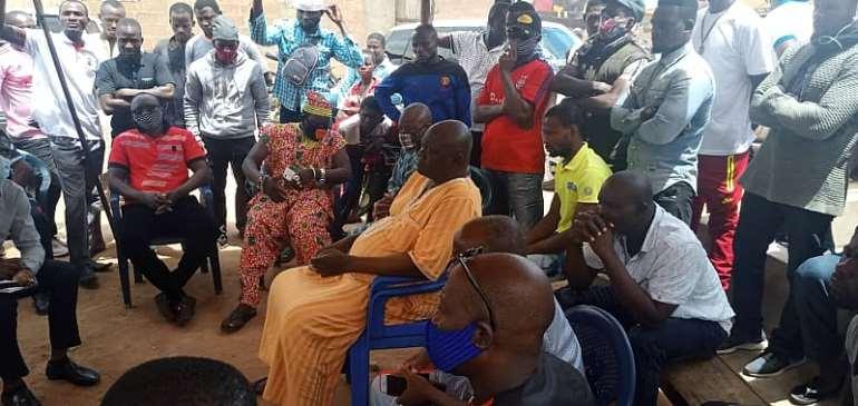 Peace Council Meets Ejura Sekyidumasi NDC MP Beaten By 'NPP Thugs'