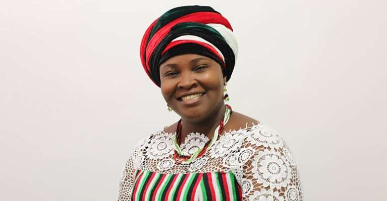 Vote Mrs Marian Jemima Adzroe For Skills Development Of Volta NDC Young Ladies And Women