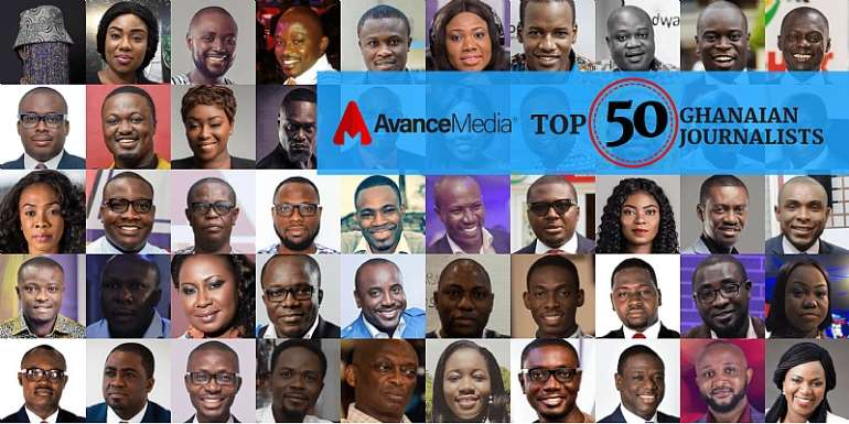 Avance Media Announces 2018 Top 50 Ghanaian Journalist