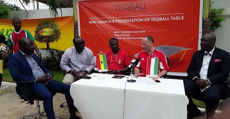 Teqball Arrives In Ghana
