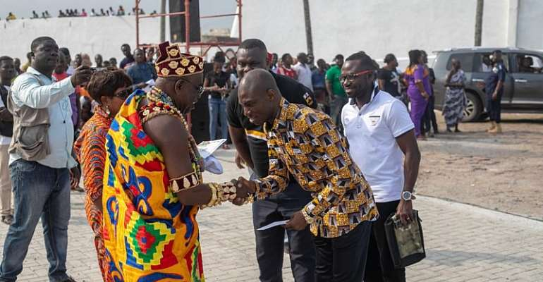 GNPC Foundation Donates Gh¢20,000 To Bakatue Festival