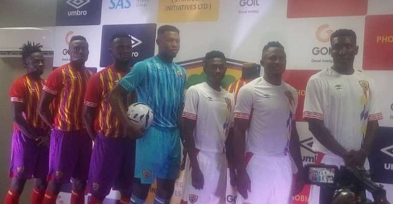 OFFICIAL: Hearts of Oak Launches New Umbro Kits