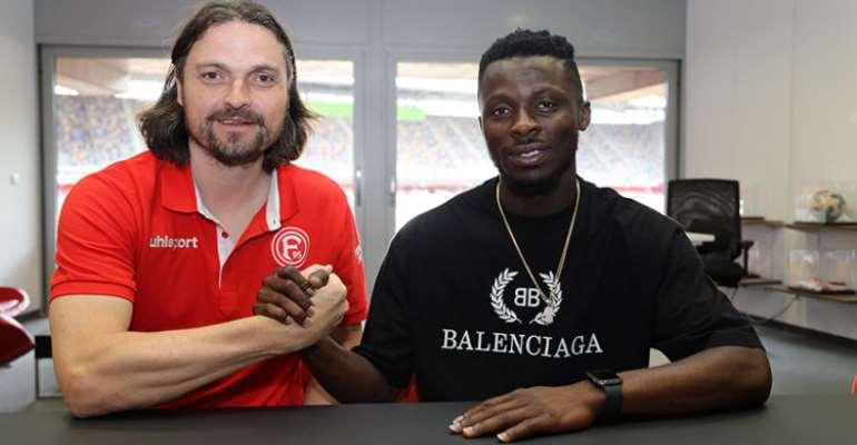 German Bundesliga Side Fortuna Dusseldorf Nana Ampomah Sign On A Three-Year Deal