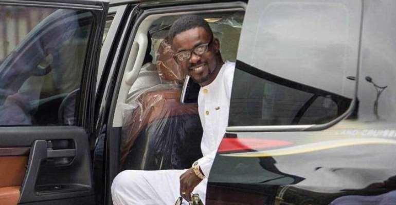 Breaking News: Menzgold boss NAM1 arrives in Ghana