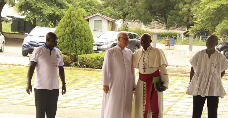 Catholic Priest Appeals To Ghanaian Youth To Support the Vulnerable Society