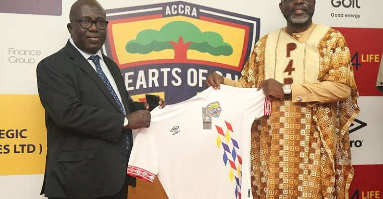 Tema Youth President Osei Palmer Buys New Hearts Kit For Gh¢20,000 To Show Support