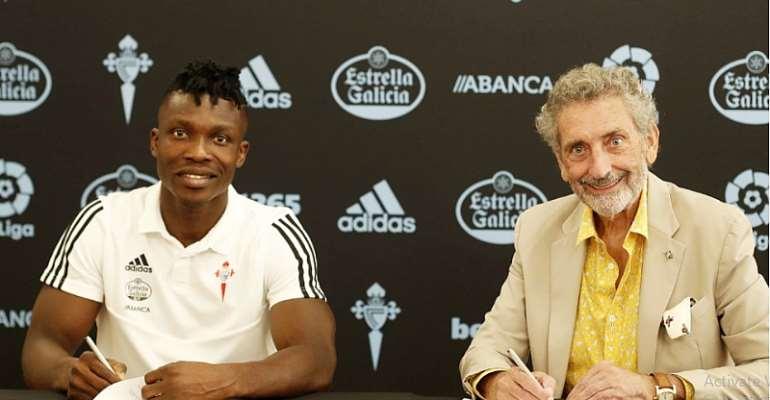 BREAKING NEWS: Spanish Side Celta Vigo Completes Joseph Aidoo Signing [PHOTOS+VIDEO]