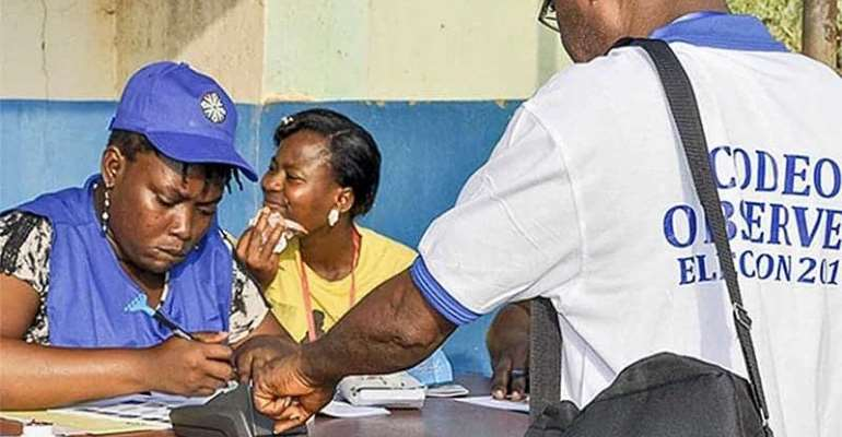 Jean Mensa And The Voters Register; Go Jean Go!