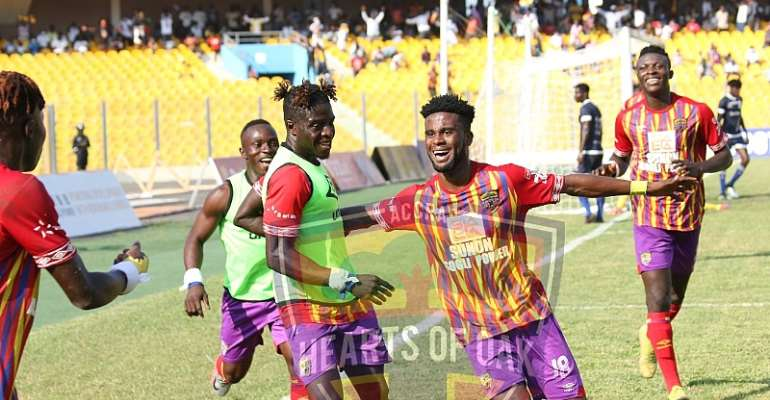 Hearts of Oak clinch league title for the first time in 11 years despite 1-1 draw against Liberty