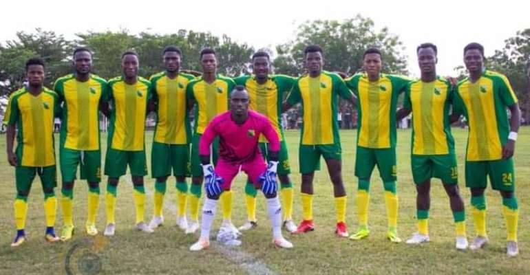 Division One League side Bibiani Gold Stars seal promotion to Ghana Premier League
