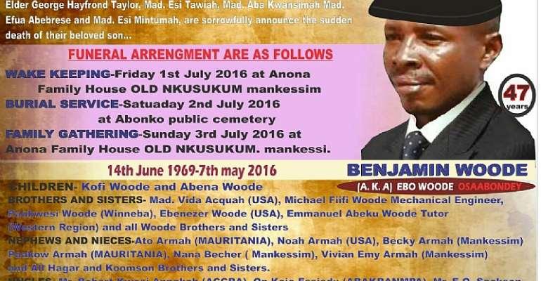 Ghana's Top Break Dancer, Brother Ebo Woode Of Mankessim Transitions
