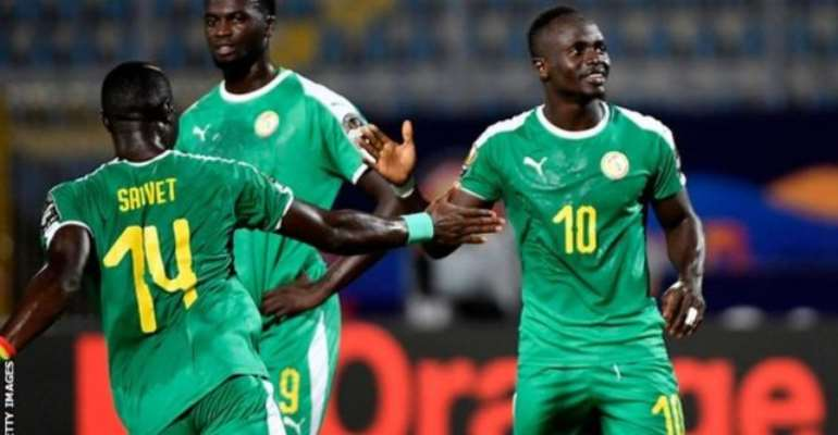 AFCON 2019: Mane Scores Twice And Misses Penalty As Senegal Reach Last 16
