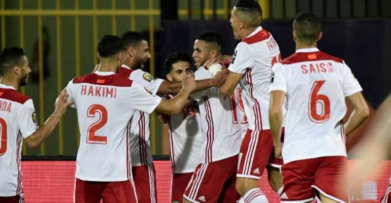 AFCON 2019: Morocco Leave It Late As Boussoufa Sinks South Africa