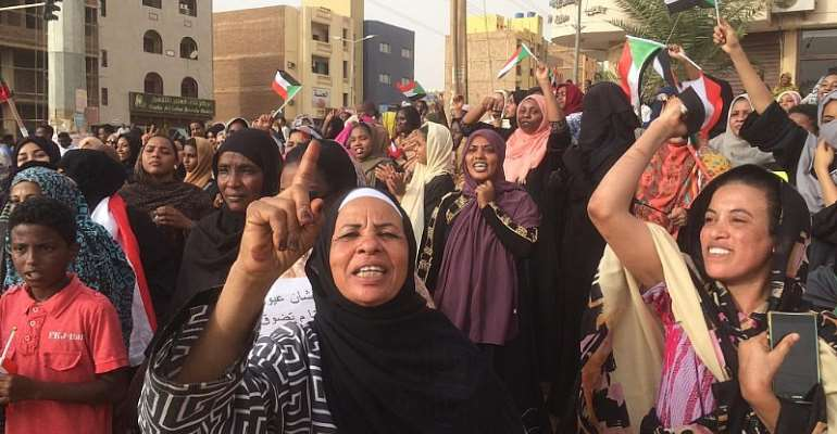 Sudan's military rejects responsibilty for protest casualties
