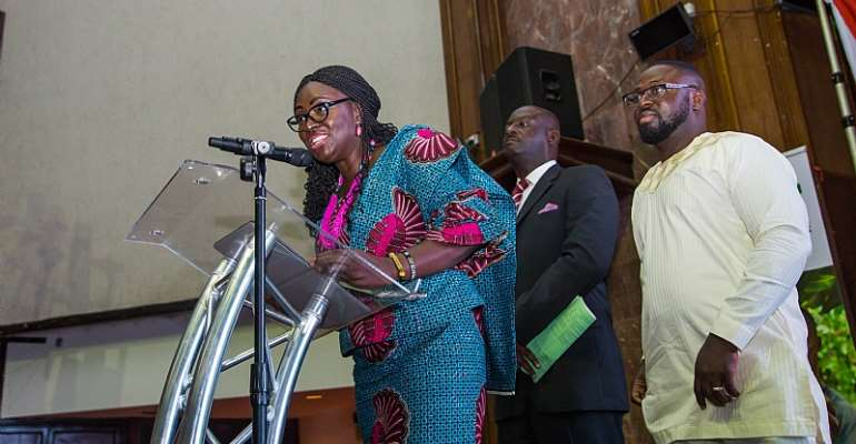 Deputy Minister for Education, Hon Gifty Twum-Ampofo Launches MyTVET Campaign