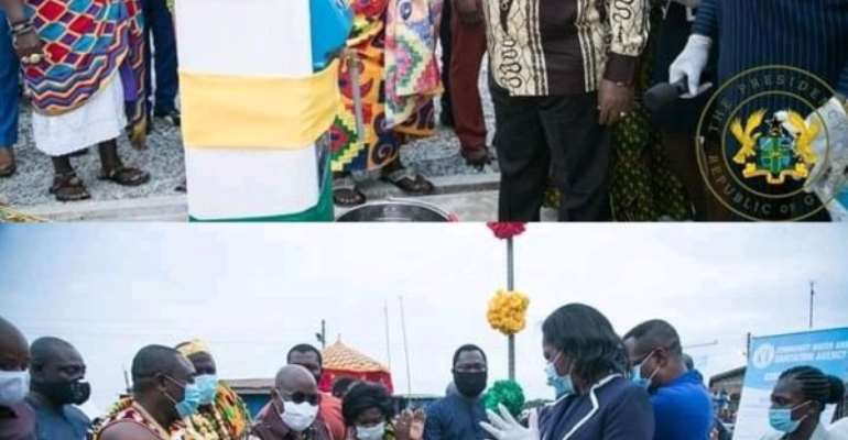 Akufo-Addo Opens GH¢73.4 million Water Systems In Central Region