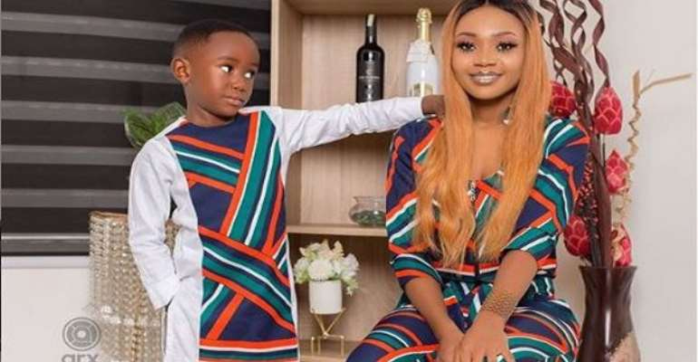 Akuapem Poloo Explains Why She Posted A 'Nude' Picture Of Herself And Son On Instagram