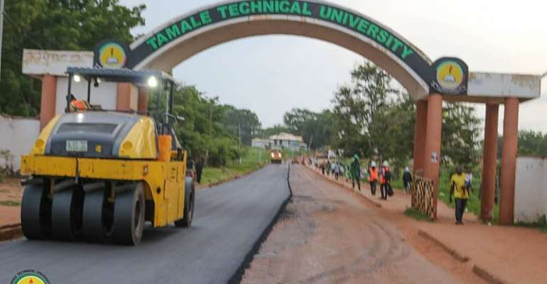 TaTU Vice-Chancellor Commends Bawumia for alphating University roads