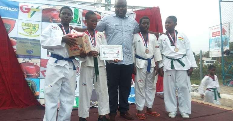 Titans Junior Taekwondo Competition Held In Accra