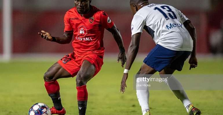 Solomon Asante Named USL Player Of The Month