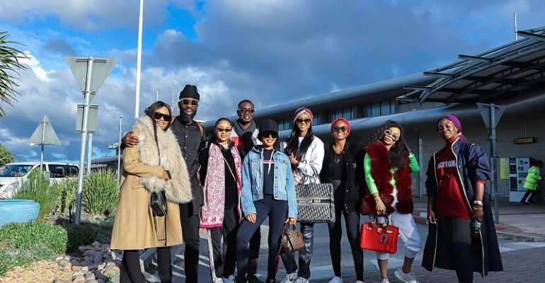 Summer Holiday Experience With Toke Makinwa, Kelechi Amadi-Obi, Ameyaw Debra, Sister Deborah Others In South Africa