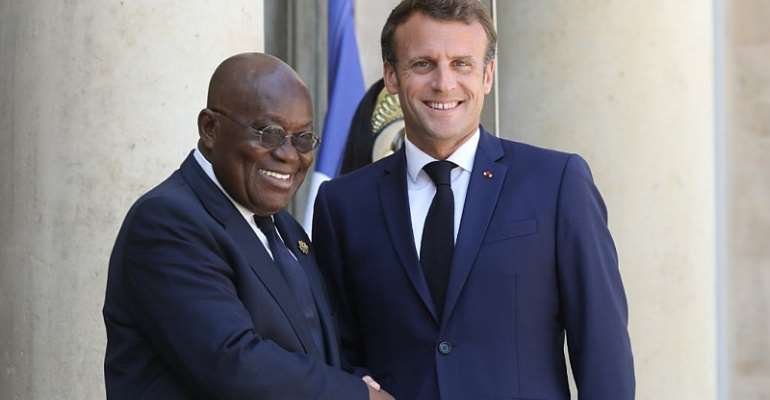 Macron Hosts Akufo-Addo For African Diaspora Summit