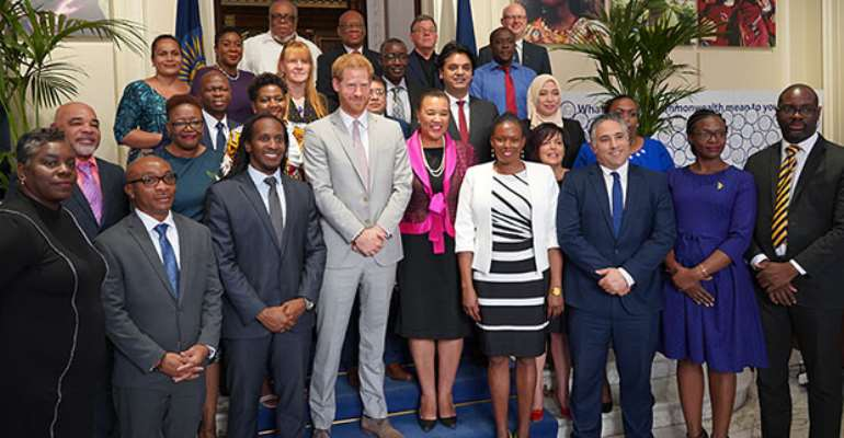 The Duke of Sussex promotes youth agenda at Commonwealth policy roundtable