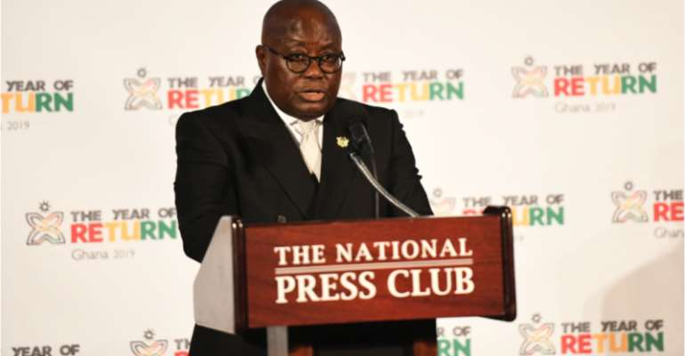 Engage Diasporans At The Floor Of Parliament Of Ghost — Akufo-Addo Urged