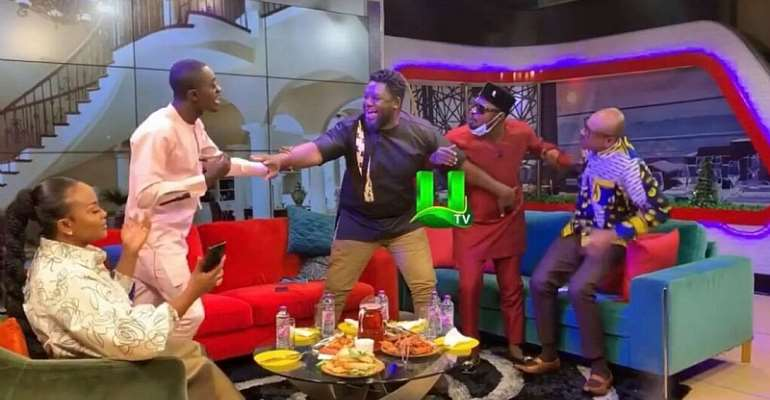 Blame Nana Ama Mcbrown and UTV for Funny Face and Lil Win's fight- Attractive Mustapha
